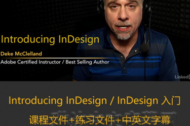 Introducing InDesign/InDesign入门课程/lynda教程/lynda中文字幕/琳达中文字幕