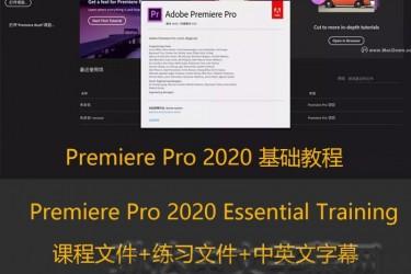 Premiere Pro 2020 Essential Training/PR2020基础教程/lynda教程/中英文字幕