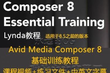 lynda教程/Avid Media Composer 8必要的培训教程/中英文字幕