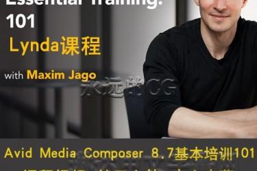 Avid Media Composer 8.7基本培训教程101/入门教程/中文字幕