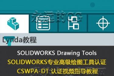SOLIDWORKS 技术专家绘图工具考试指导教程/CSWPA-DT认证/lynda教程/中英文字幕